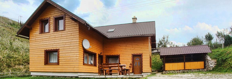 Ubytovanie v krásnej prírode Nízkych Tatier v obci Čierny Balog